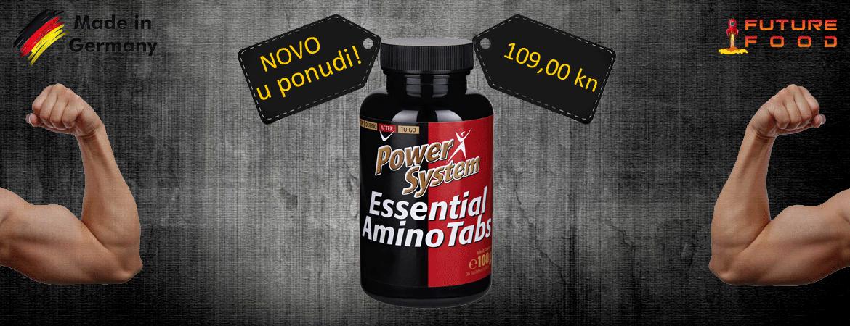 esencijalne aminokiseline - dodatak prehrani