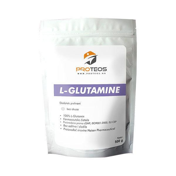 Proteos L-Glutamine u prahu 500 g - Fitshop.hr