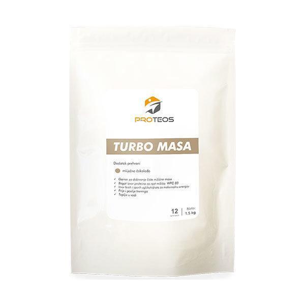 Proteos Turbo Masa 1,5 kg coko - gainer - Fitshop.hr