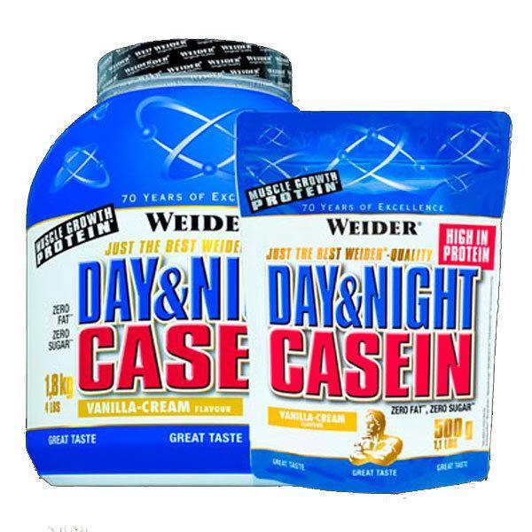 Weider Casein Day & Night 500g & 1.500g vanilija - Fitshop.hr