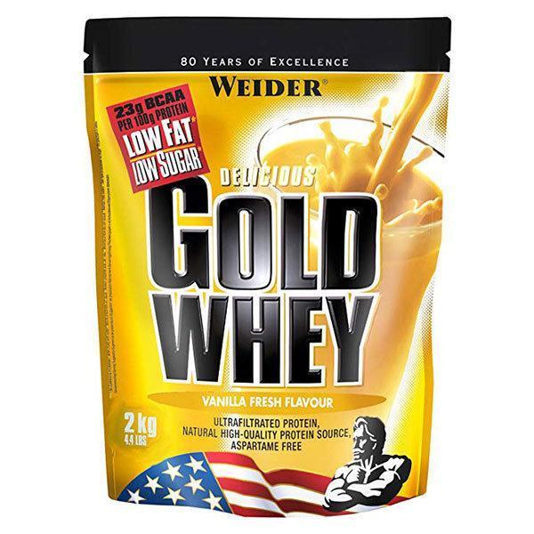 Weider Gold Whey 2kg vanilija - Fitshop.hr