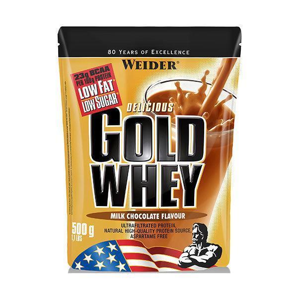 Weider Gold Whey proteini 500g mljecna cokolada - Fitshop.hr