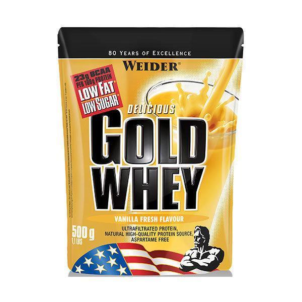 Weider Gold Whey 500g vanilija - Fitshop.hr