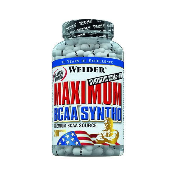 Weider Maximum BCCA Syntho - 240 kapsula - Fitshop.hr