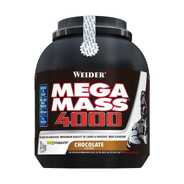 Weider Mega Mass 4000 3kg cokolada - Fitshop.hr