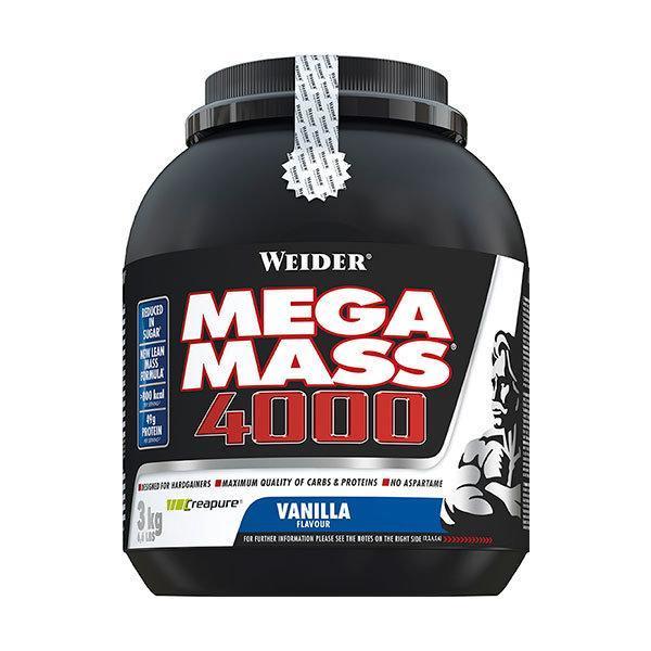 Weider Mega Mass 4000 3kg vanilija - Fitshop.hr