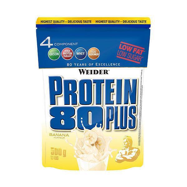 Weider Protein 80 Plus 500g Banana - Fitshop.hr