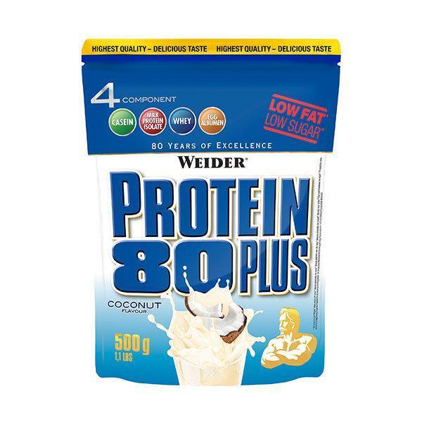 Weider Protein 80 Plus 500g Kokos - Fitshop.hr