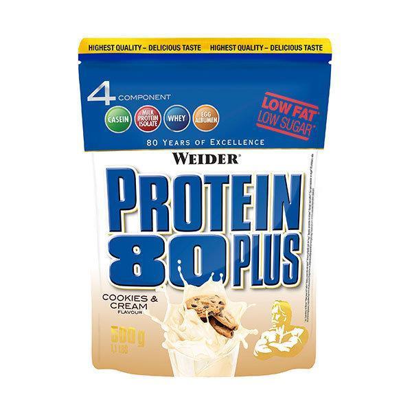 Weider Protein 80 Plus 500g keksi i krema - Fitshop.hr