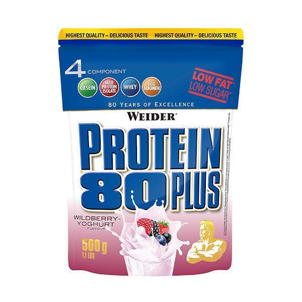 Weider Protein 80 Plus 500g sumsko voce - Fitshop.hr