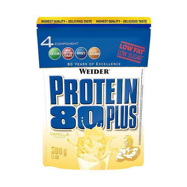 Weider Protein 80Plus 500g Vanilija - Fitshop.hr