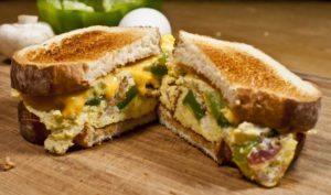 sendvič iz mikrovalne