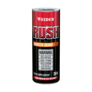 Weider RUSH Drink 250ml Orange - Fitshop.hr